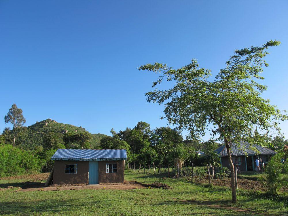 Albert Schweizer Schule in Kenia am Anfang