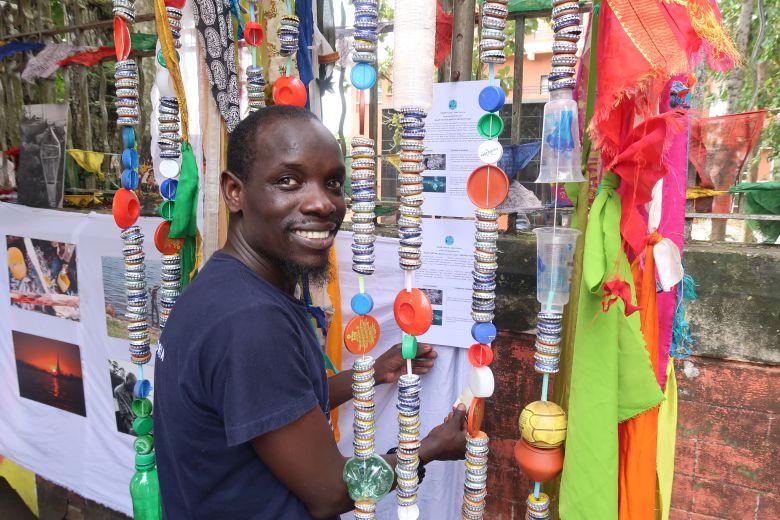 Dave während des Naam Festivals in Trivandrum