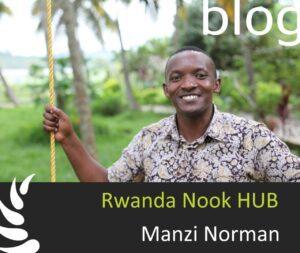 Norman Manzi, Gründer von Dream Village in Ruanda
